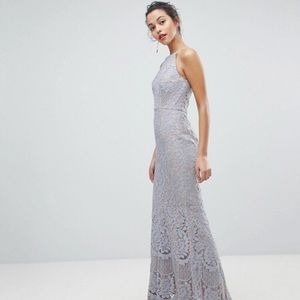 Jarlo All Over Lace Gown/Bridesmaid
